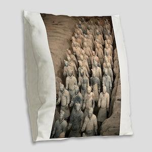 CHINA GIFT STORE Burlap Throw Pillow