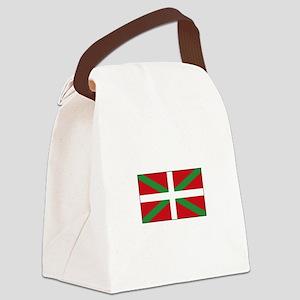 Basque Flag Spain Canvas Lunch Bag