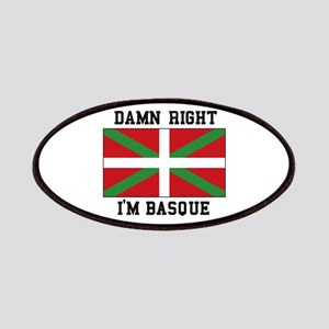 Damn Right I'MBasque Patch