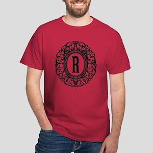 MONOGRAM Vintage Gothic Oval T-Shirt