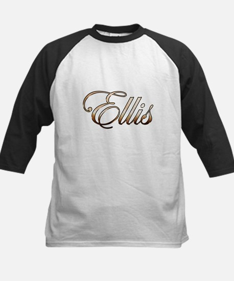Gold Ellis Baseball Jersey