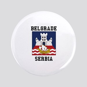 Belgrade Serbia Button
