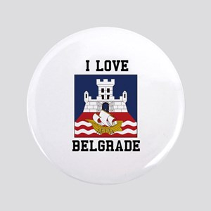 I Love Belgrade Button