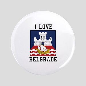 I Love Belgrade Button
