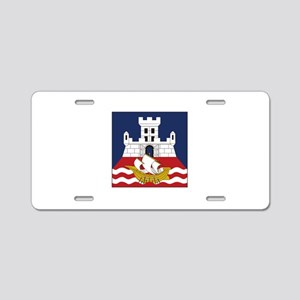 Belgrade, Serbia Aluminum License Plate