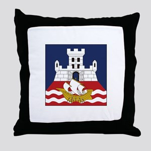Belgrade, Serbia Throw Pillow