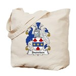 Snowden Family Crest Tote Bag