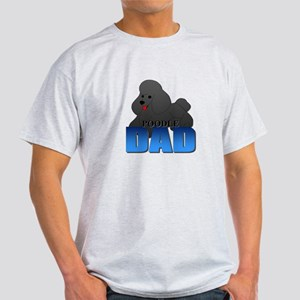 Black Poodle Dad T-Shirt