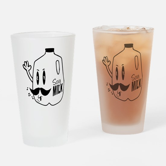 Funny Leche! Drinking Glass