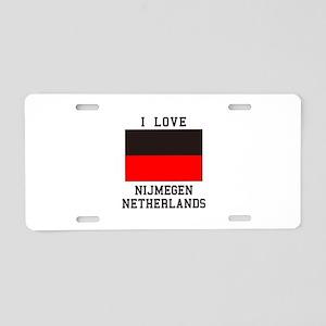 I Love Nijmegen Aluminum License Plate