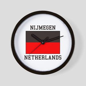 Nijmegen Flag Wall Clock
