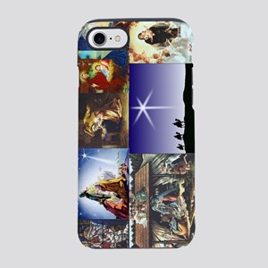 Christmas Nativity Medley iPhone 7 Tough Case