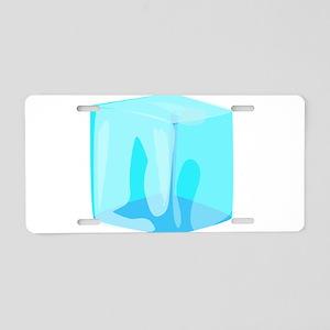 ice Aluminum License Plate
