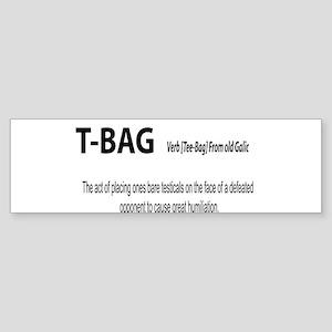 TBAG Bumper Sticker