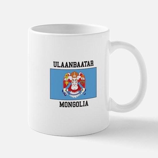 Ulaanbaatar, Mongolia Mugs