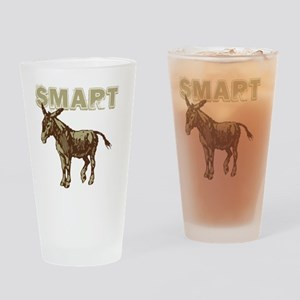 Smart Donkey Drinking Glass
