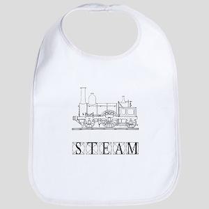 Steam Train Bib