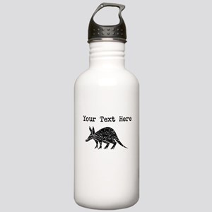 Distressed Aardvark Silhouette (Custom) Water Bott