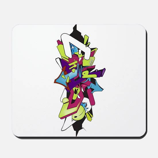 Graffiti king Mousepad