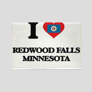 I love Redwood Falls Minnesota Magnets