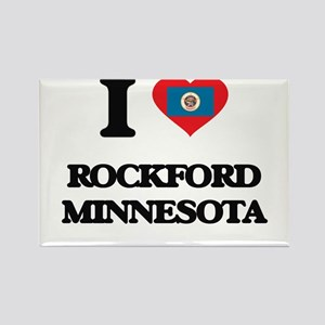 I love Rockford Minnesota Magnets