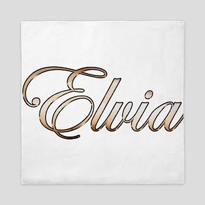 Gold Elvia Queen Duvet