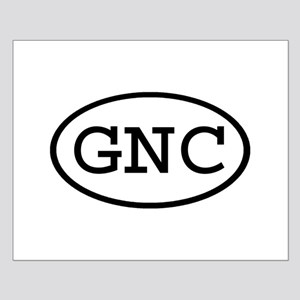 GNC Oval Small Poster