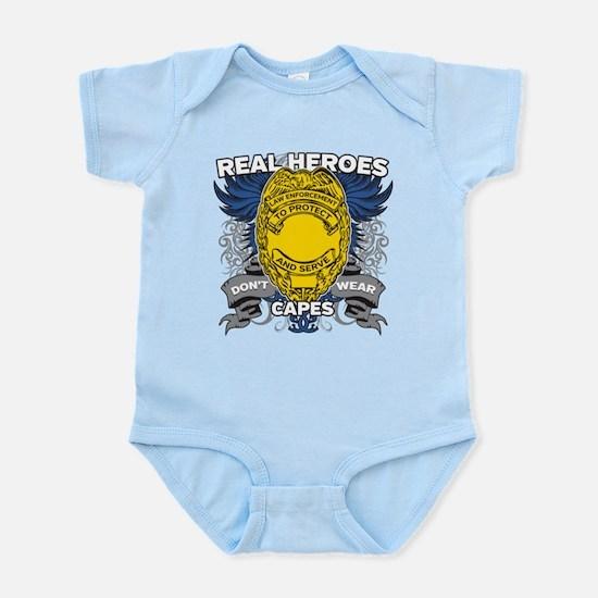 Real Heroes Law Enforcement Infant Bodysuit