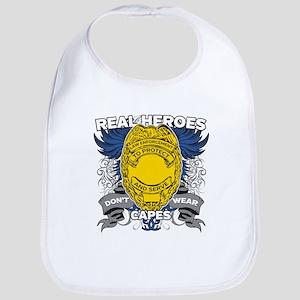 Real Heroes Law Enforcement Bib