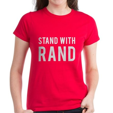 Stand With Rand Womens T-Shirt