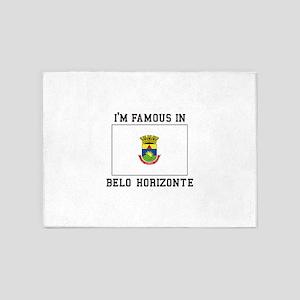 I'M Famous IN Belo Horizonte 5'x7'Area Rug