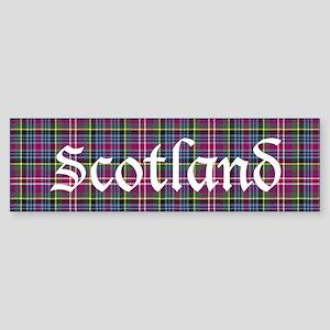 Tartan - Scotland Sticker (Bumper)