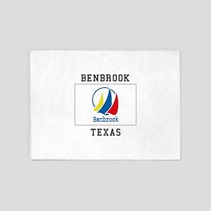 BENBROOK TEXA 5'x7'Area Rug