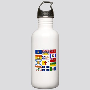 Canadian Provinces Water Bottle