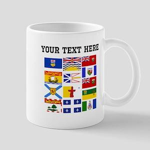 Custom Canadian Provinces Mugs