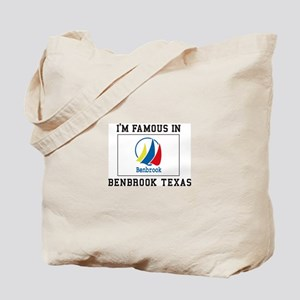 I'M famous IN Benbrook, Texas Tote Bag