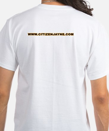 Citizen Jayne White T-Shirt