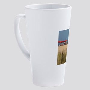 Day At The Beach 17 oz Latte Mug