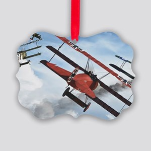 flying circus Picture Ornament