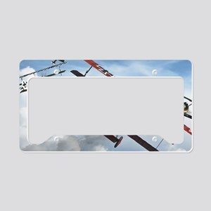 flying circus License Plate Holder