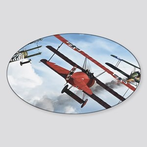 flying circus Sticker (Oval)