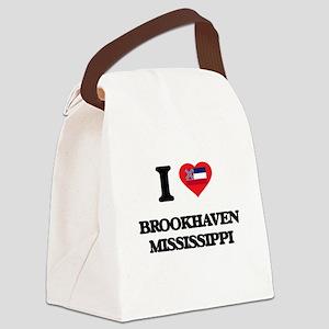 I love Brookhaven Mississippi Canvas Lunch Bag