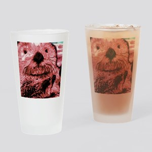Red Sea Otter Drinking Glass