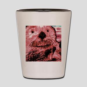 Red Sea Otter Shot Glass