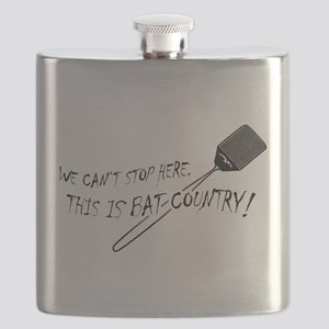WE CAN'T STOP HERE, THIS IS BAT COUNTRY! Flask