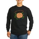 Mommy's Little Pumpkin Long Sleeve Dark T-Shirt