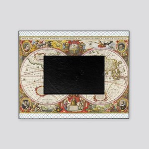 Travel picture frames cafepress antique world map picture frame gumiabroncs Gallery