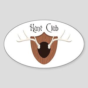 Hunt Club Sticker