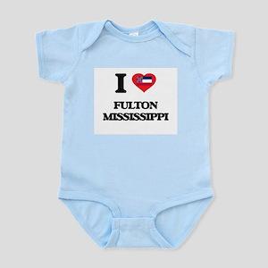 I love Fulton Mississippi Body Suit