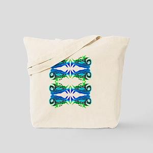 Retro Mahi Mahi Fish Pattern 2. Fish Tuna Tote Bag
